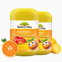 Nature's Way 澳萃维 Nature's Way 佳思敏 儿童维生素C加锌软糖  60粒