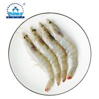 PLUS会员:仁豪水产  南美进口白虾 净重  1500g 60-75只*2件 +新万亚 翡翠生虾仁 200g