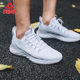 PEAK 匹克 态极1.0运动鞋2021夏季新款跑步鞋男网面透气轻便减震小白鞋