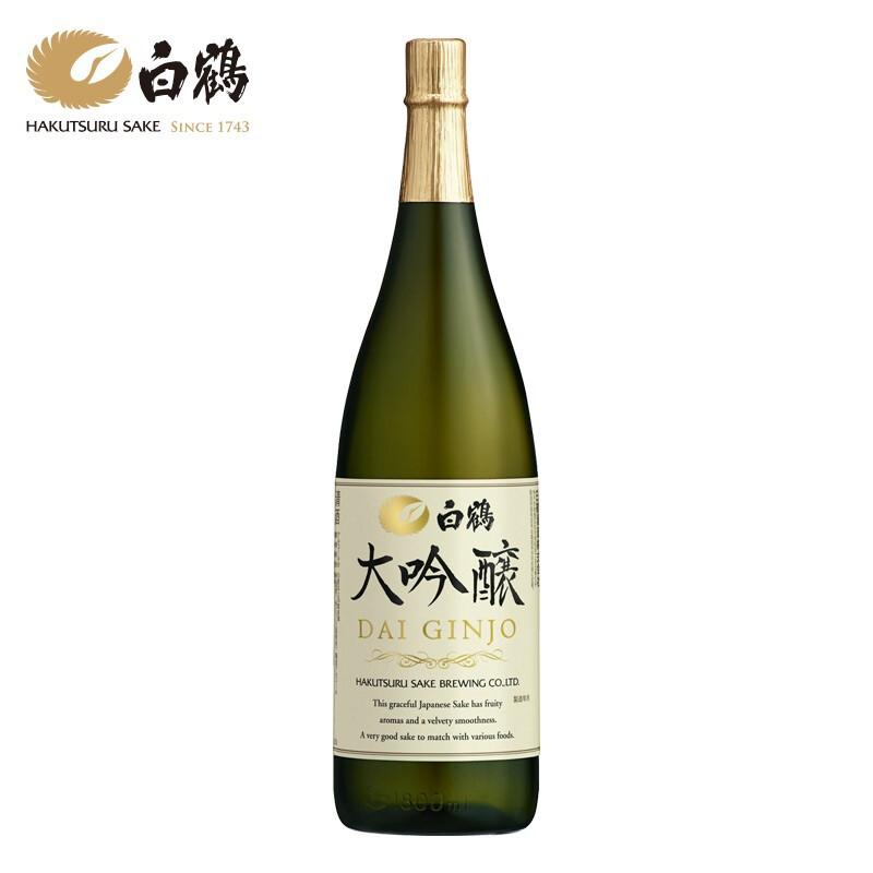 BAI HE 白鹤 大吟酿 日本清酒 1.8L