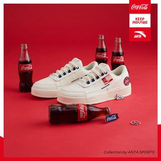 ANTA 安踏 可口可乐联名 912128030 男款运动板鞋