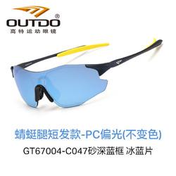 OUTDO 高特 跑步眼镜马拉松装备日夜两用夜视眼睛墨镜 蜻蜓腿款GT67004-C047