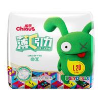 Chiaus 雀氏  薄+C引力 婴儿纸尿裤 L20片