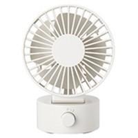 MUJI 无印良品 无印良品 MUJI USB桌上风扇(低噪音) 白色 型号:MJ-9ZF013DZ03