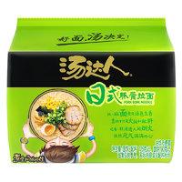 Uni-President 统一 汤达人日式豚骨味方便面  五连包