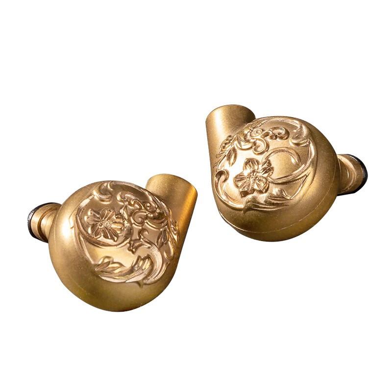 ikko OH7 入耳式挂耳式有线耳机 金色