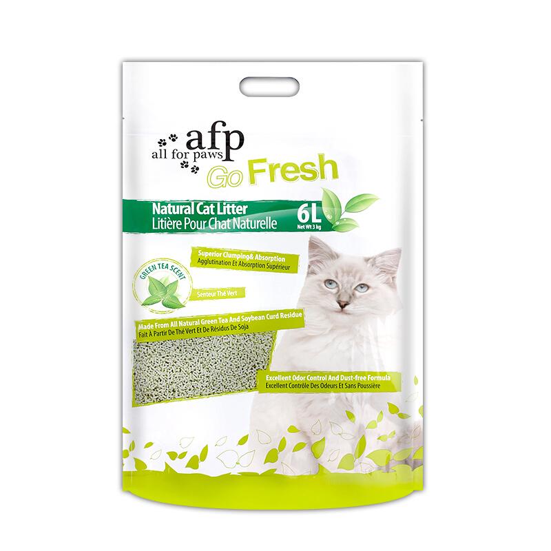 AFP 豆腐猫砂 6L 绿茶