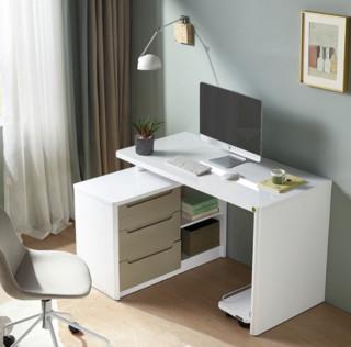 QuanU 全友 120321 台式办公转角电脑桌