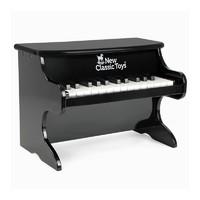 NEW CLASSIC TOYS New Classic Toys儿童木质小钢琴玩具儿童电子琴初学幼儿宝宝男女孩礼物琴音乐玩具礼物 黑色机械琴