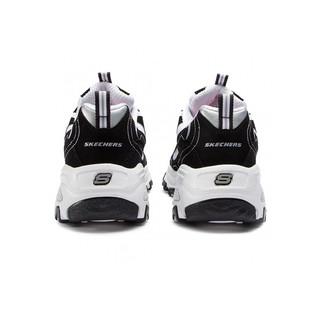 SKECHERS 斯凯奇 Skechers斯凯奇女鞋新款D' LITES运动鞋熊猫鞋休闲鞋