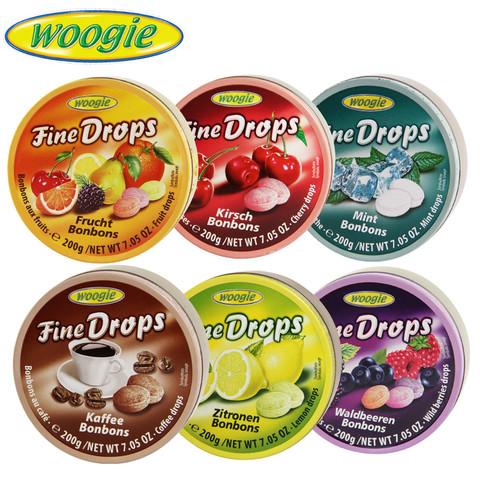 woogie 德国糖水果糖硬糖 1盒