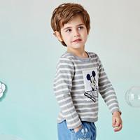 Disney baby 男童长袖t恤打底衫童装