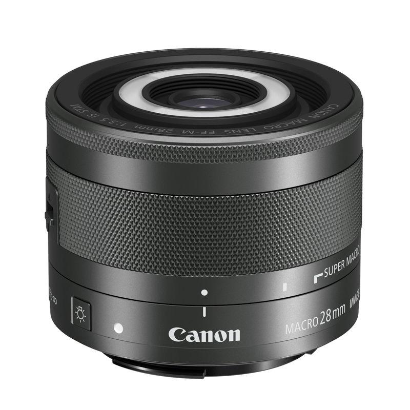 Canon 佳能 EF-M 28mmf/3.5 IS STM 微距 定焦镜头