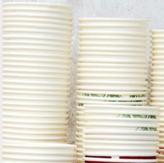 心若有情 一次性纸杯 加厚款 210ml*500只 火烈鸟