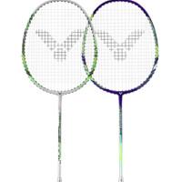 VICTOR 威克多 挑战者系列 JS5233双拍 羽毛球拍 蓝绿色