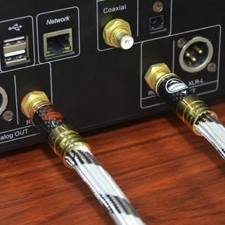 Yosemay 金枪鱼 HE-01 RCA接口 音频线缆 1m