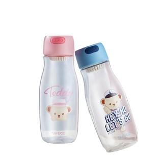 TAFUCO 泰福高  泰迪熊卡通塑料水杯 550ML