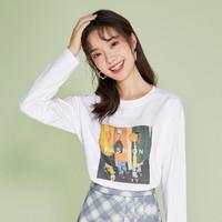 Puella 2A11106XX032  港味印花T恤