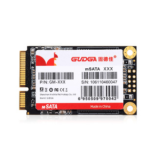 GUDGA 固德佳 mSATA 固态硬盘(SATA3.0)