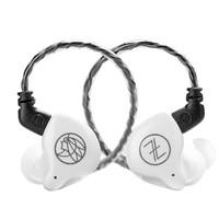 The Fragrant Zither 锦瑟香也 T1S 带麦版 入耳式挂耳式有线耳机 透明白