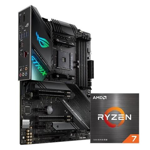 AMD R7-5800X 盒装CPU处理器 + ROG 玩家国度 STRIX X570-F GAMING 主板 套装