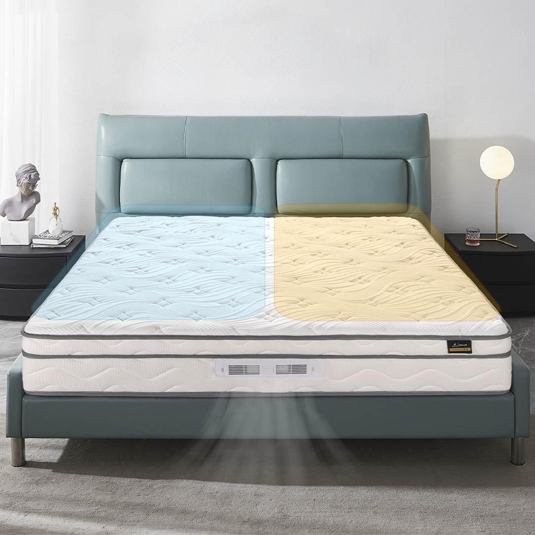 小编精选 : DeRUCCI 慕思 Air-pro 黑科技智能温控床垫 1.5m