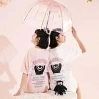 LEDIN 乐町  熊本熊联名 CWDAA210682 女士印花T恤
