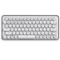 RAPOO 雷柏 ralemo Pre 5 79键 无线多模机械键盘 冰雪白 雷柏青轴 单光