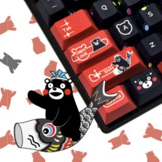 CHERRY 樱桃 MX Board 8.0 熊本熊限定版 黑红主题 87键 有线机械键盘