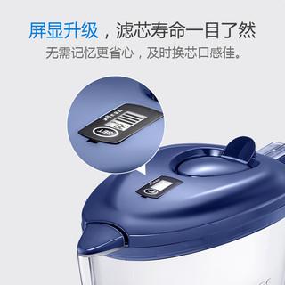 飞利浦净水壶2807过滤水壶净水器家用自来水过滤器滤水杯厨房直饮