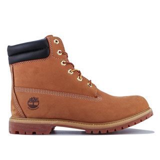 Timberland 添柏岚 Waterville 6 Inch Waterproof 女士工装靴