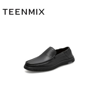 Teenmix 天美意 男士休闲皮鞋