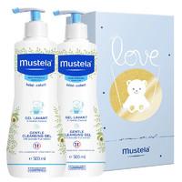 Mustela 妙思乐 二合一洗发沐浴露 500ml*2瓶装