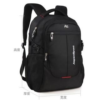 AspenSport 艾奔 标准版 15英寸双肩电脑包 AS-B36 32L 黑色