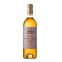 黑卡会员:la fiole 芙华 法国苏玳一级庄1999 哈宝普诺酒庄贵腐甜白葡萄酒  750ml