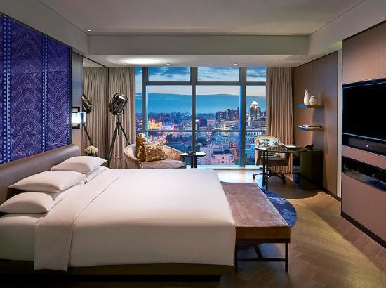 可积SNP!北京索菲特大酒店豪华房1晚(含单人自助晚餐)