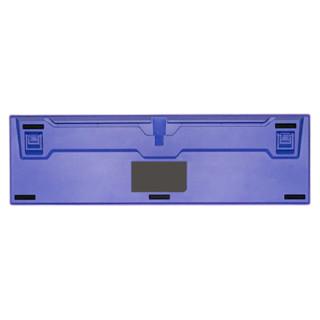 DURGOD 杜伽 白泽 104键 有线机械键盘 黄白紫 Cherry银轴 无光