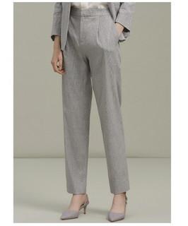 ME&CITY 547M90549C618 女士直筒宽松商务西裤