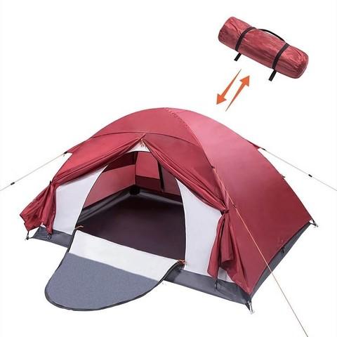 值友专享:WIPHA 四季专业铝杆户外双人帐篷