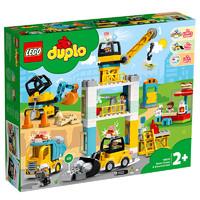 有券的上:LEGO 乐高  得宝系列 10933 忙碌的建筑基地