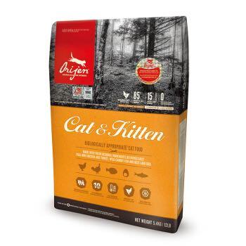 Orijen 渴望  天然鸡肉猫粮  鸡肉味 5.4kg