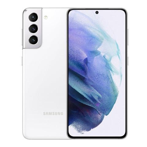 SAMSUNG 三星 Galaxy S21 5G(SM-G9910)双模5G 骁龙888 超高清专业摄像 120Hz护目屏 游戏手机 8G+256G 丝雾白