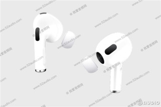 Apple 苹果 AirPods 3 入耳式真无线耳机