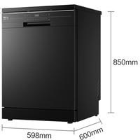 Haier 海尔  EW130266BKT 嵌入式洗碗机 13套