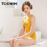 TOSWIM 拓胜 TS01002613005 女士连体泳衣