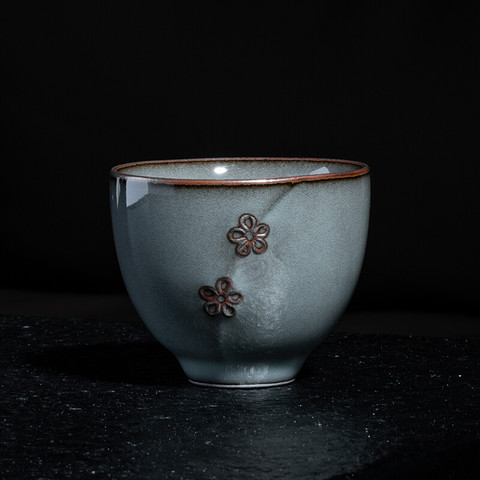 xigu 熹谷  龙泉青瓷梅花杯