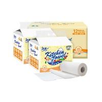 88VIP:C&S 洁柔 厨房纸巾 2层*120节*12卷