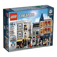 LEGO 乐高  创意百变街景 10255 10周年集会广场