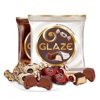 临期品:KDV 俄罗斯进口巧克力味夹心糖果  500g