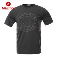 黑卡会员:Marmot 土拨鼠 N44195 男士速干T恤